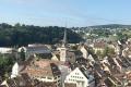 Blick von der Zirkularfestung Munot auf die Stadt