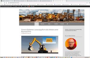 Blog Industriemaschinenrecht