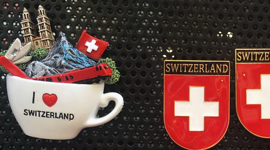 Mitbringsel auf der Schweiz